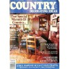 Cover Print of Country Decorating Ideas, Fall 1986
