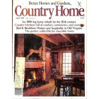 Country Home, April 1985