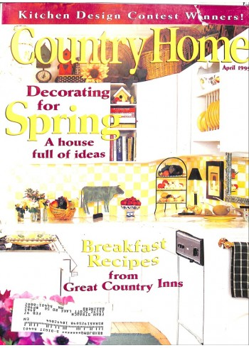 Country Home, April 1995