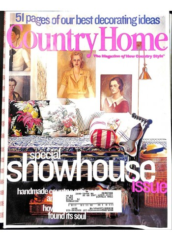 Country Home, April 2002