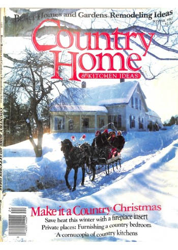 Country Home, December 1982