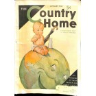 Country Home, January 1932