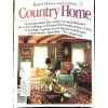 Cover Print of Country Home, January 1985