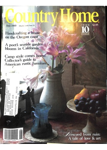 Country Home, June 1989