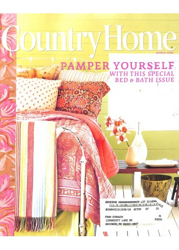 Country Home, March 2005