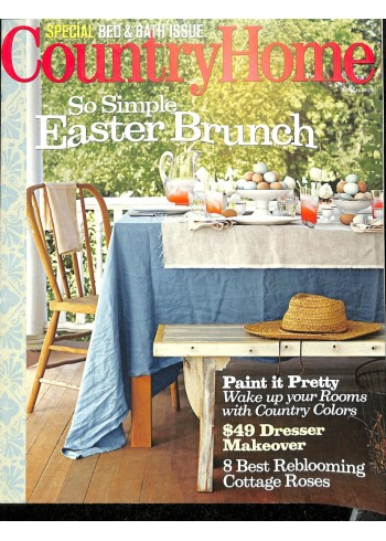 Cover Print of Country Home, March 2008