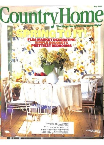 Cover Print of Country Home, May 2001