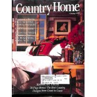 Cover Print of Country Home, October 1992