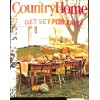 Cover Print of Country Home, October 2006