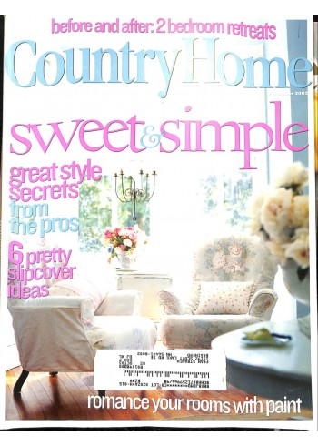 Cover Print of Country Home, September 2002