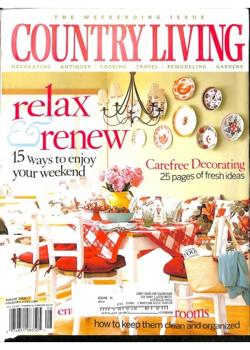 Country Living, August 2004
