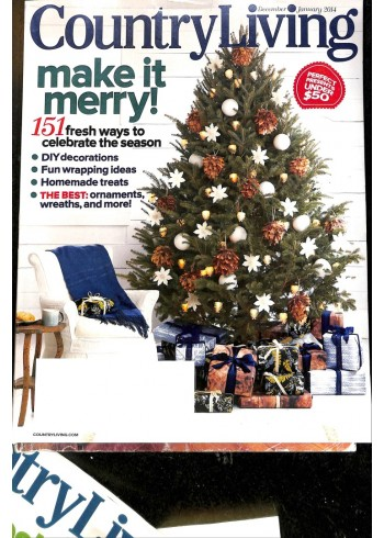 Cover Print of Country Living, December 2014