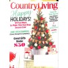 Cover Print of Country Living, December 2015