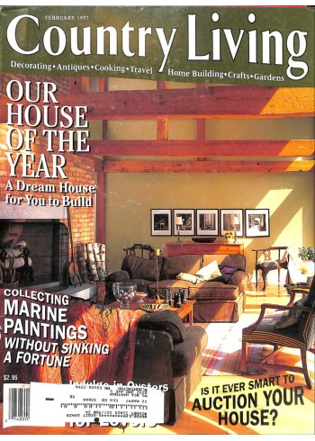 Cover Print of Country Living, February 1997