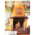 Cover Print of Country Living, January 1998