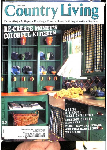 Cover Print of Country Living, June 1995