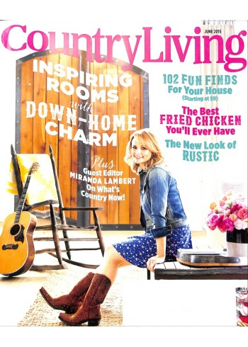 Cover Print of Country Living, June 2015