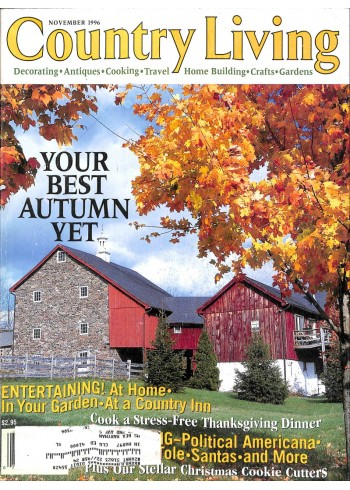 Cover Print of Country Living, November 1996