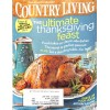 Cover Print of Country Living, November 2009