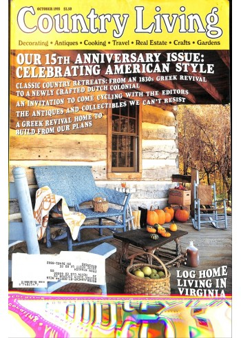 Cover Print of Country Living, October 1993