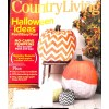 Cover Print of Country Living, October 2012