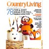 Cover Print of Country Living, October 2014