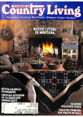 Cover Print of Country Living, September 1988