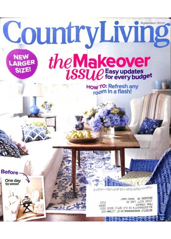 Country Living, September 2010