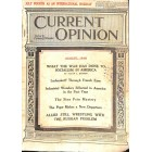 Current Opinion, August 1918