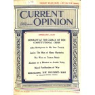 Cover Print of Current Opinion, February 1918