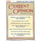 Cover Print of Current Opinion, June 1916