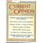 Cover Print of Current Opinion, March 1917