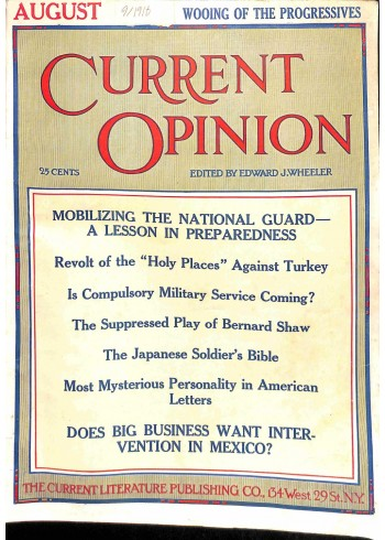 Current Opinion, September 1916