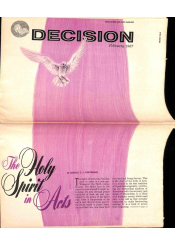 Cover Print of Decision, February 1967