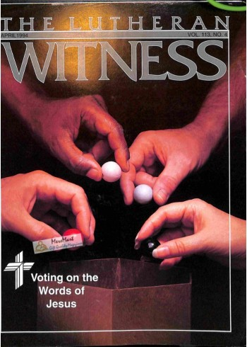 Cover Print of Decision, April 1994