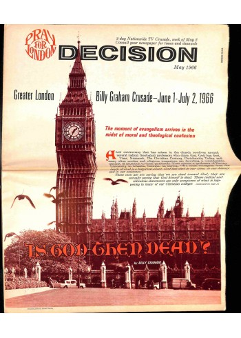 Cover Print of Decision, May 1966