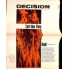 Cover Print of Decision, October 1967