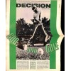 Cover Print of Decision, September 1968