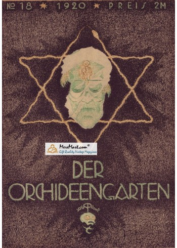 Der Orchideen Garten, 1920. Poster Print.