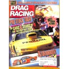 Cover Print of Drag Racing, February 1991