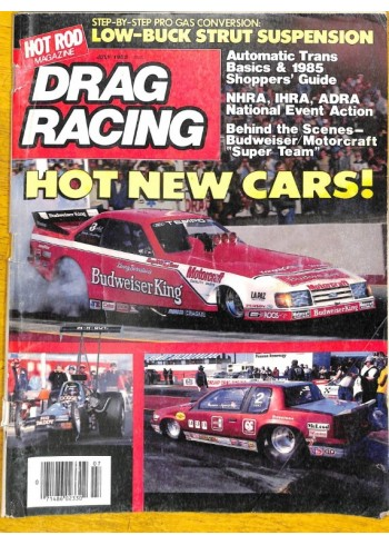 Cover Print of Drag Racing, July 1985