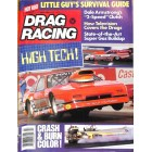 Cover Print of Drag Racing, July 1987