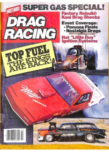 Drag Racing, March 1986