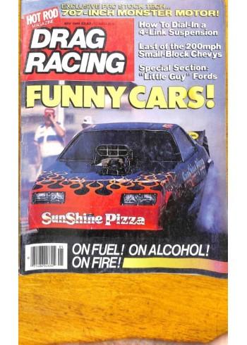 Cover Print of Drag Racing, May 1985