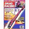 Cover Print of Drag Racing, November 1989