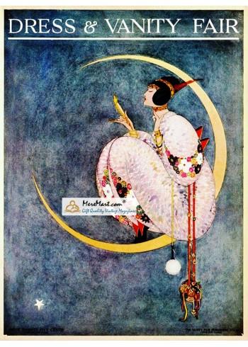 Dress and Vanity Fair, October, 1913. Poster Print.