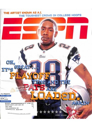 Cover Print of ESPN, January 17 2005