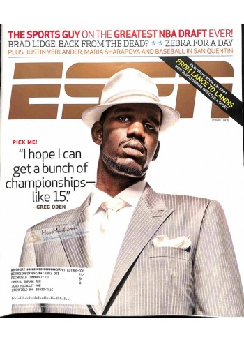 Cover Print of ESPN, July 8 2007