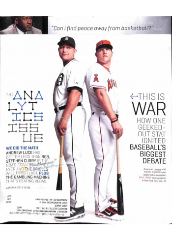 Cover Print of ESPN, March 4 2013
