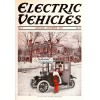 Electric Vehicles, December, 1913. Poster Print.